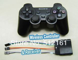 Robot PS2 Controller & Receiver Handle for Robot Spider Biped DIY