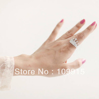 Korean Fashion Hot Trendy Lovely Crown Elegant Full Crystal Rhinestone Ring New LKJ26 Free Shipping