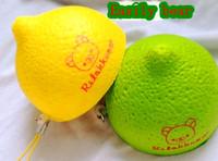 4pcs/lot 6.5cm Easily bear cake Squishy Cell Phone Charm/bag charm /squishy buns