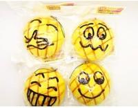s 20pcs/lot jumbo 10 cm Melon Pan bread Squishy Cell Phone Charm/bag charm /squishy buns