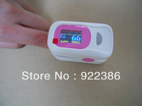 SOUND alarm Fingertip digital Pulse Oximeter SpO2 & pulse rate heart monitor Color OLED display 4 direction 8 mode alarm