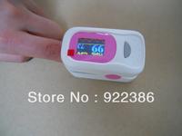 SOUND alarm Fingertip digital Pulse Oximeter SpO2 & pulse rate heart monitor Color OLED display 4 direction 8 mode alarm