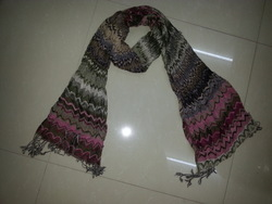 latest fashion jaquard scarf(China (Mainland))
