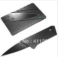 Free Shipping Super Cool Small Bank Credit Card Folding Pocket  Knife Wallet Folding Safety Knife