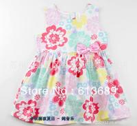 4PCS/lot&Free Shipping!2013 girls summer dress,tutu dresses for girls,dress girl princess baby girl summer dress,baby clothing