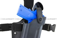 Safariland Tactical DropLeg Holster for USP Airsoft with flashlight bd2292 free shipping
