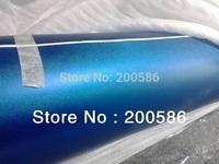 Color Changed Vinyl Film Pearl Blue Matte Vinyl Car Sticker Free Shipping PBM30M