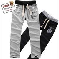 Free Shipping Hot Sales Pop Style Leisure Pants 2 Colors Men Sports Pants Trousers 1pc/lot