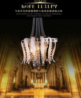 Free Shipping Modern Fashion Crystal Pendant Hanging Lighting Fixtures for Home Decoration on Sale