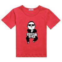 Style children's clothing bird summer short-sleeve T-shirt male female child 2013 spring