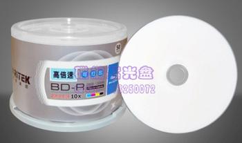 A bd25g 10x blu ray discs bd-r 25g printable disc struggled plate