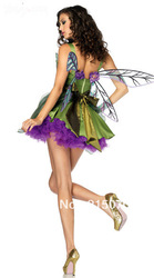 Charming Woodland Fairy Costume For Wholesale angel dress(China (Mainland))