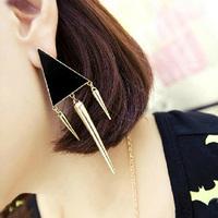 Min Order 12$ 2013 new arrival, punk drop earrings, vintage colorful enamel earring, fashion jewelry ES0033