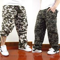 Ultralarge Camouflage Pants  2013 New Arrival Man Multi-pocket Overalls Fashion Casual Hiphop Trousers 1150 Free Shipping