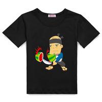 Fruit children's clothing male child 2013 spring short-sleeve T-shirt fruit summer short-sleeve summer