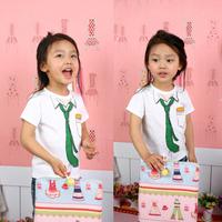 Male female child T-shirt short-sleeve summer short-sleeve cool baby t shirt