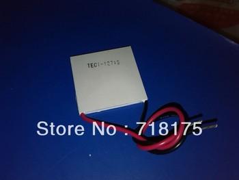 2PCS/LOT TEC1-12715 12715 TEC Thermoelectric Cooler Peltier 12V New of semiconductor refrigeration TEC1 12715