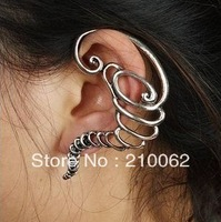 Fashion personality Punk style earrings E4731 ear cuff earrings 12pc/lot, Free Shipping min order $15