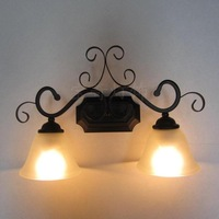 Mirror light fashion bathroom double slider dressages mirror cabinet lamp rustic lamp wall lamp balcony wall lamp bqb-6