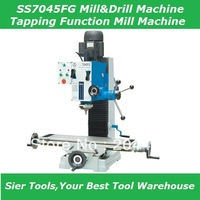 1.5KW(2HP) drilling&milling machine/800*2240mm mill and drill machine/Tapping Funciong/Delivery Via Sea