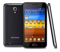 "N9770 5.08 inch Capacitive MTK6577 Dual core i9220 Android 4.0.9 Wifi GPS 3G Smart cell phone Dual-core 1.0GHz 5.0""Inch"