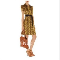 2013 Serpentine Print Tunic was thin i dress DN253