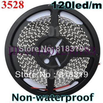 3528 600 led 100M 120led/m  non-waterproof  LED Strip SMD Flexible lightwarm white /cool white/red/green/blue/yellow ribbon