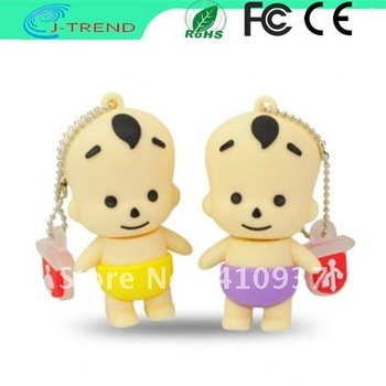 Free Shipping Cartoon Lovely Boy USB 2.0 Flash Drive