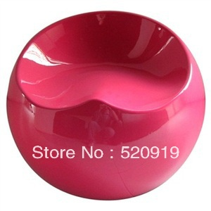 Wear shoes fashion Apple stool stool ball dressing stool round plastic chair special(China (Mainland))