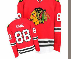 Mix Order Hot Men&#39;s Chicago Blackhawks 88# Patrick Kane Red Ice Hockey Jerseys Embroidery logos Size 48-56(China (Mainland))