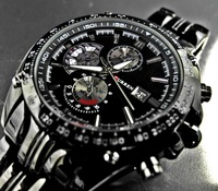 Free Shipping Winner brand Mens Black Skeleton Hand Wind Mechanical Watch Men Wrist Watch