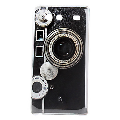 Camera Pattern Hard Case for Samsung Galaxy S Advance I9070(China (Mainland))