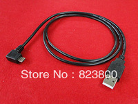 U2-089-1M Left Angled 90 Degree Micro USB Male USB Data Charge Cable for i9100 9220 9250