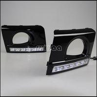 Hyundai Tucson LED Daytime Running / Driving Lights Kits,High Quality LED DRL,Super-bright Headlights,6pcs LED DRL Lights