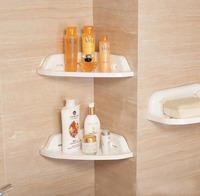 2013 smallware Bathroom tripod shelf suction cup shelf bathroom shelf rack storage rack, Free shipping