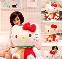 Free Shipping New fashion doll cute apple hello kitty plush doll 38cm size stuffed animals
