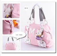 2013 bag student school bag cartoon bear doll women's handbag shoulder bag messenger bag
