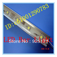 Wholesale 2pcs/lot No-waterproof 5050 SMD 50cm 36leds,led tube,LED hard light bar with Crystal No-waterproof DC CPAM Shipping
