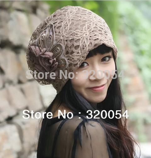 Free shipping 1pcs 2013 new turban caps South Korea s version of autumn winter Beanies women