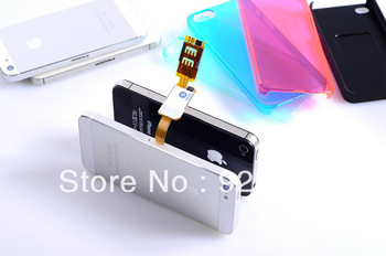 Free Shipping  Q-SIM Dual SIM Card Adapter for iPhone 5