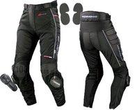 Free Fast Shipping EMS! Komine Men Motocross Oxford Fabric Elastic Motorcycle Armor Gear Racing Pants Mesh With Kneepad Has XXXL