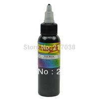 High quality True Black Tattoo Ink 2OZ/bottle free shipping