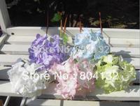 "LOW Price 10pcs 34cm/13.39"" Length Artificial Simulationl Baroque Hydrangea Wedding Christmas Party Home Decorations"