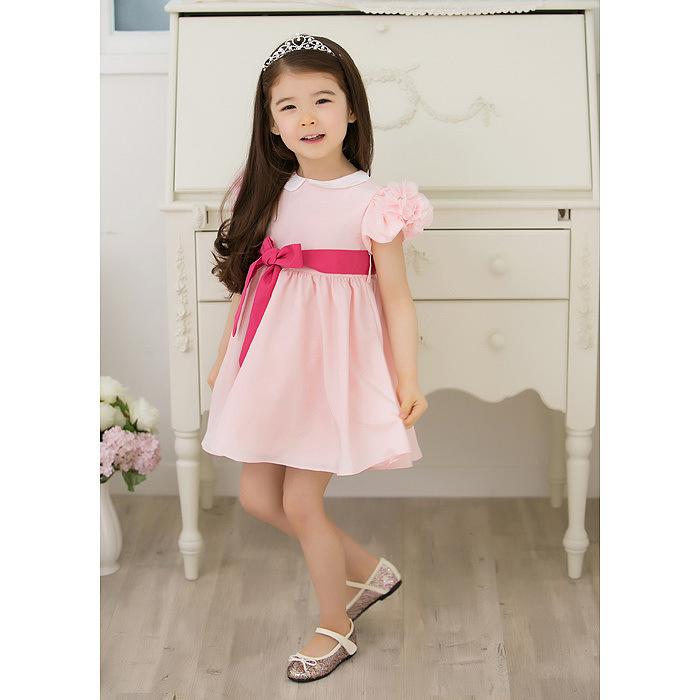Cute Babies Pink Dress Dress Children Cute Baby