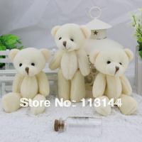 XGC-02 free shipping 60pcs/lot teddy bear joint doll cartoon bouquet wedding gift plush toy