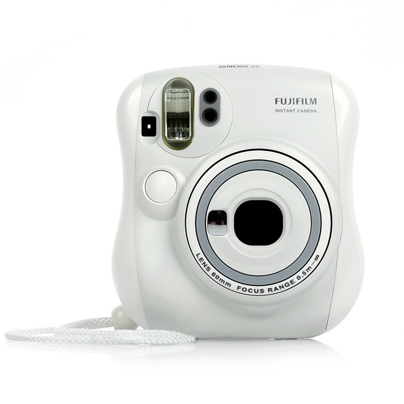 Fuji instax polaroid mini25 white camera(China (Mainland))