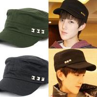 Cadet cap male hat male casual cadet military cap hat