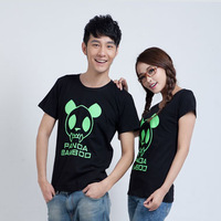 2013 lovers class service basic shirt short-sleeve T-shirt short-sleeve t-shirt luminous