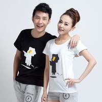 2013 lovers class service basic shirt short-sleeve T-shirt short-sleeve t-shirt