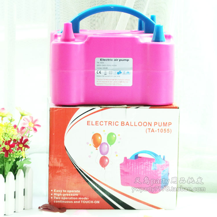 Wedding balloon wedding supplies helium balloon inflator electric air pump inflationists(China (Mainland))